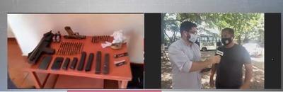 Caen dos presuntos miembros del PCC en Capitán Bado