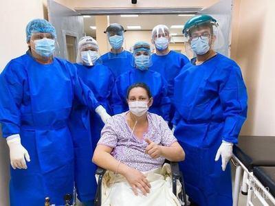 Encarnacena es la primera paciente con covid recuperada tras internación en terapia intensiva en Misiones