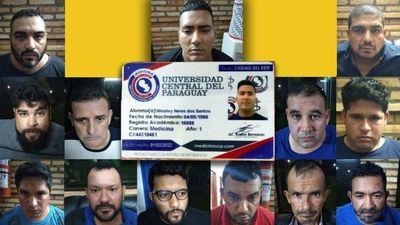 """""""Bebeçao"""", el aspirante """"médico"""" y líder narco, detenido junto otros 5 brasileño y 8 paraguayos en """"asamblea"""" del PCC"""