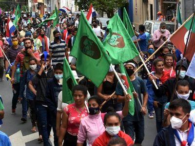 Protestas se intensifican con inicio de la tradicional marcha campesina