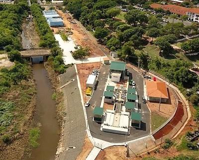 Primera planta de tratamiento de aguas residuales en Paraguay, donde apenas se trata el 4% de líquido cloacal