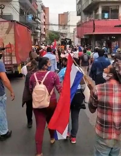 """Piden la cabeza de Marito: """"Hijos de la dictadura quieren criminalizar al pueblo harto de este gobierno"""""""