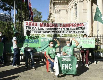 """FNC anuncia para mañana marcha campesina """"en modo COVID"""""""
