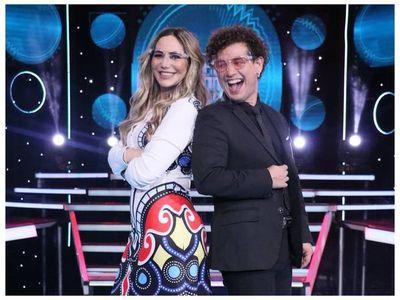 Clara Franco cantó con su coach y causó polémica