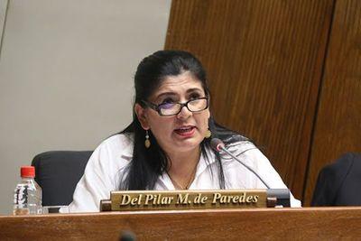 Diputados rechazan pedido de sanción a Del Pilar Medina, presentado por Celeste Amarilla