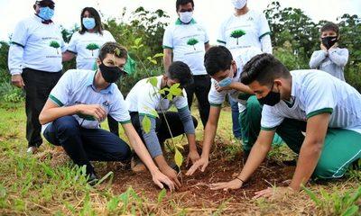 Municipios iniciaron campaña de arborización Heñói en áreas de la biósfera