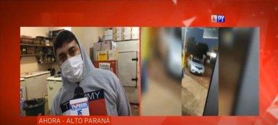 Comerciante denuncia a precandidato concejal de la ANR por destrozos a su local