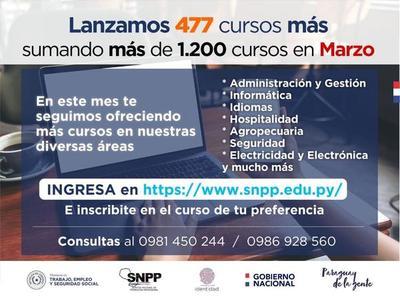 SNPP lanza más de 400 acciones formativas para fines de marzo – Prensa 5