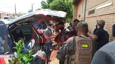 Miembros del PCC detenidos en el patio de la Seccional colorada 217 fueron expulsados del país
