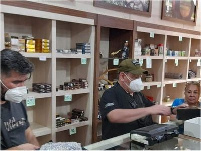Un detenido tras allanamiento a local que vendía armas al EPP