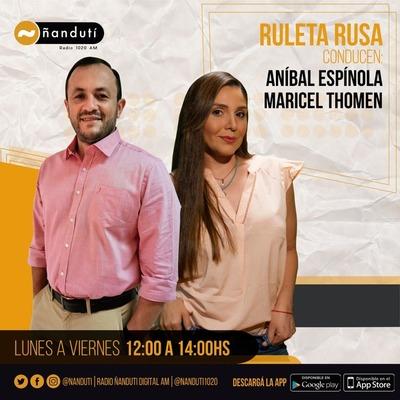 Ruleta Rusa con Anibal Espinola y Maricel Thomen
