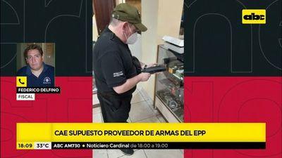 Cae supuesto proveedor de armas del EPP