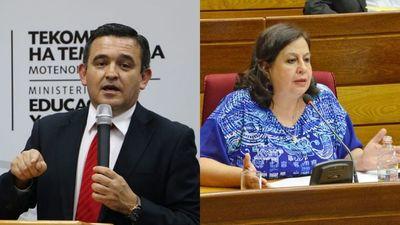 Petta intimó a Esperanza Martínez a rectificarse de dichos en su contra o de lo contrario la querellará
