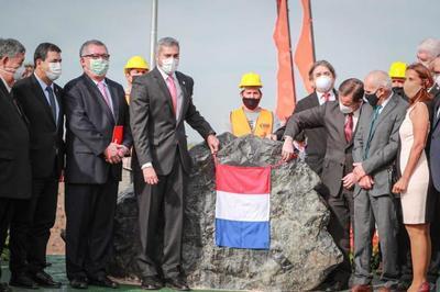 Se dio inicio a la construcción del puente que unirá Asunción con Chaco'i