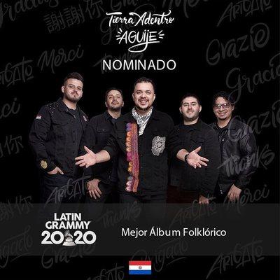 Tierra Adentro nominado en los premios Grammy