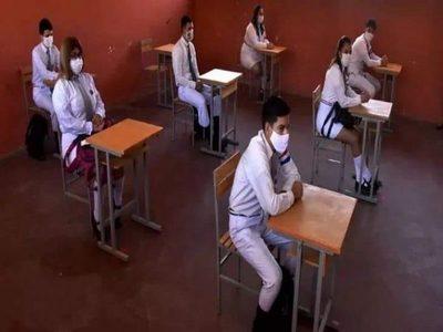 Hasta el momento hay mayor cantidad de alumnos inscriptos para clases presenciales
