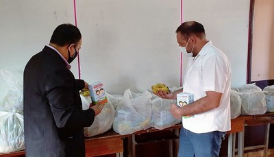 Gobernador hace CAMPAÑA POLITICA con alimentos para NIÑOS