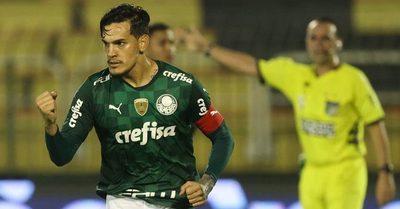 Gustavo Gómez salva al Palmeiras ante un equipo de Tercera División