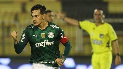 Gustavo Gómez salvó el empate del Palmeiras en el Paulistão
