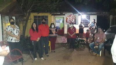 Con amor y esperanza reciben y apoyan al candidato a intendente del joven empresario Fernando Esteche y su equipo de concejales