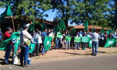 Inicia 27ª marcha de la Federación Nacional Campesina