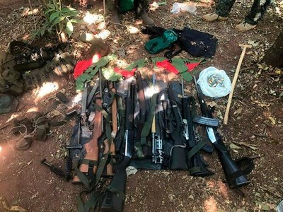 Detienen a presunto proveedor de armas para el EPP