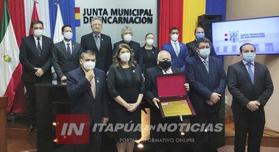 DON JORGE MATEO GRANADA ES HOMENAJEADO COMO CIUDADADANO ILUSTRE DE ENCARANACIÓN