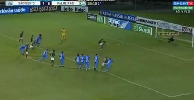 Palmeiras: Gustavo Gómez salva con un gol a su equipo