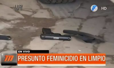 Nuevo presunto feminicidio en Limpio