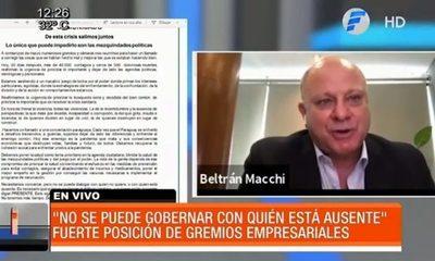 Fuerte critica de empresarios a Mario Abdo Benítez