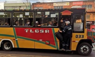 Buses de corta, media y larga distancia no podrán circular