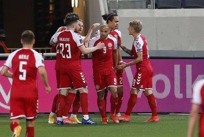 La cantidad de espectadores que albergará Dinamarca en la Eurocopa