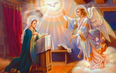 25 de marzo: Hoy se conmemora la anunciación de María