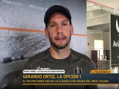 El arribo de Gerardo Ortíz depende del Once Caldas