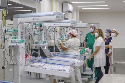 Hospital de Luque amplía capacidad con terapia intensiva neonatal