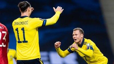 Zlatan volvió a su selección marcando una asistencia para el triunfo