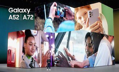 Galaxy A52, A52 5G y A72