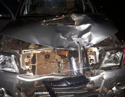 Violento accidente en Naranjal