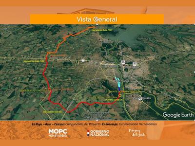 MOPC ahorró G. 45.554 millones con adjudicación de tramo del Corredor Metropolitano del Este