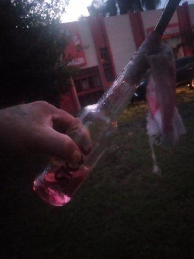 Supuestas bombas tipo molotov fueron halladas frente a seccional colorada – Prensa 5