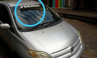 """Avivados usan calcomanías de """"prensa"""" para evadir los controles en las rutas – Diario TNPRESS"""
