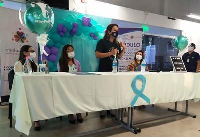 En Centro Ciudad Mujer realizan charla sobre la prevención de cáncer de cuello uterino