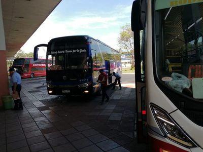 Semana Santa: Dinatran suspende viajes de corta, media y larga distancia