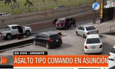 Violento asalto a empresaria en Asunción
