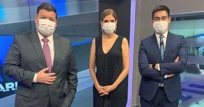 La Nación / Escrache a mediáticos: Periodistas de Vierci se quedaron sin canje en conocida tienda