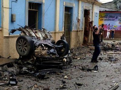 Atentado con coche-bomba deja 16 heridos en Colombia