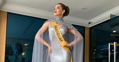 Daisy Lezcano no clasificó, pero trae consigo la corona de la 'Kuña Mbareté'