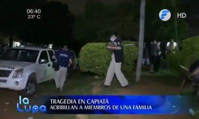 Atacan a tiros a una familia de Capiatá y matan a dos