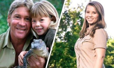 Bindi Irwin homenajea a su papá con el nombre de su primera hija