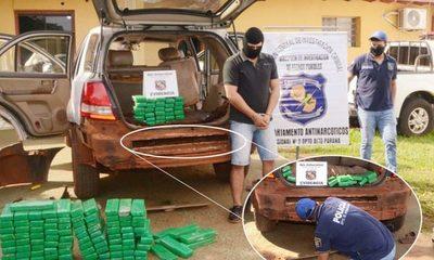 Capturan a un sujeto que intentaba llevar más de 94 kilos de marihuana al Brasil – Diario TNPRESS